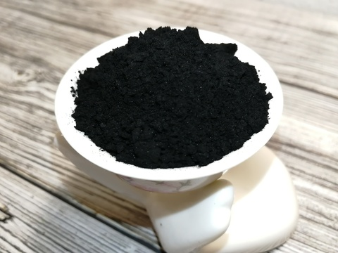 Краситель органический натуральный Уголь Бамбуковый черный, 25 гр