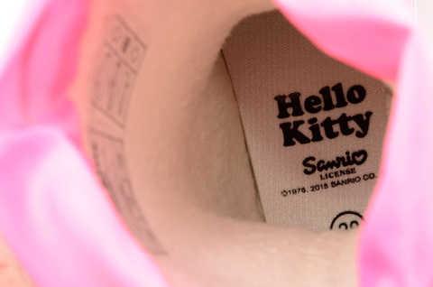 Резиновые сапоги для девочек утепленные Хелло Китти (Hello Kitty), цвет розовый. Изображение 11 из 11.