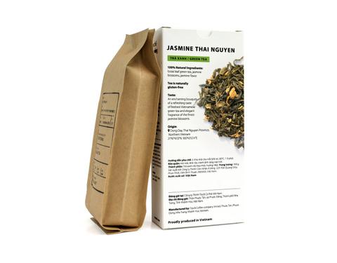 Вьетнамский зелёный фермерский чай с жасмином, Sense of Asia, 100 гр.