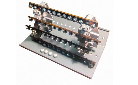 Распределительный блок на DIN-рейку РБ-250 4П 250А (4 шины 10xM6+1хM8) TDM