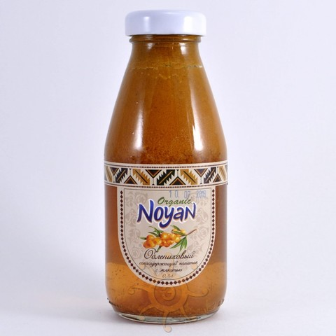 """Напиток облепиховый с мякотью """"Organic"""" Noyan, 330мл"""