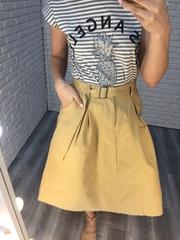 бежевая длинная юбка nadya