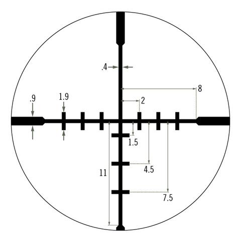 Vortex Crossfire II 2-7x32 Dead-Hold BDC (CF2-31003)