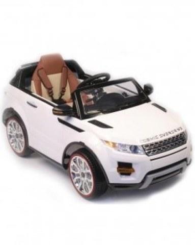 Детский электромобиль Rivertoys Range Rover А111АА белый VIP