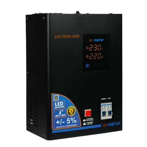 Стабилизатор напряжения Энергия Voltron 3000 (5%)
