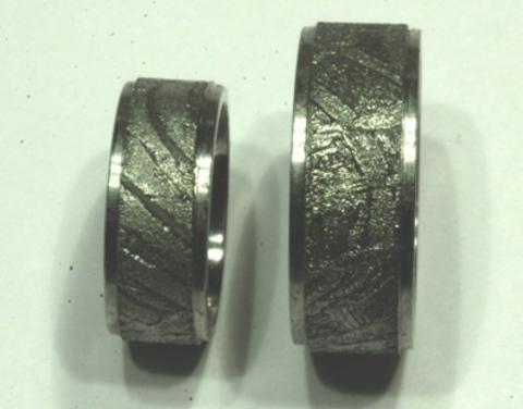 Кольцо из метеорита на заказ