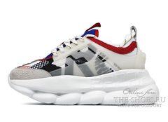 Кроссовки Versace Chain Reaction 2 Chainz Multi Color White