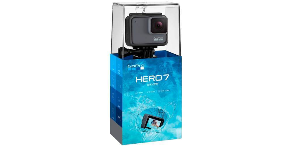 GoPro HERO7 Silver Edition (CHDHC-601-LE) в коробке