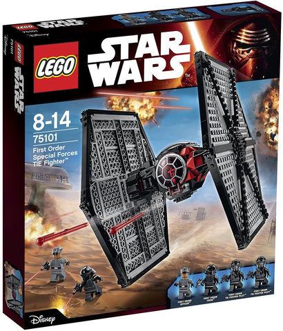 LEGO Star Wars: Истребитель особых войск Первого Ордена 75101 — First Order Special Forces TIE Fighter — Лего Звездные войны Стар Ворз