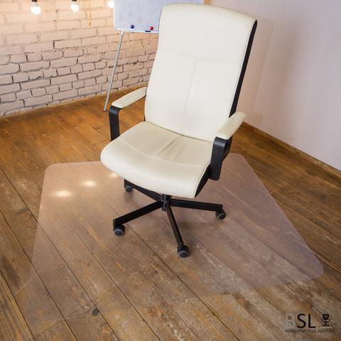 Защитный коврик под кресло 1200x1200 мм шагрень