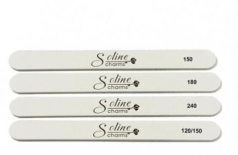 Пилка Soline Charms овальная - 120/150 грит