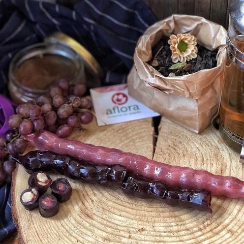 Фотография Чурчхела без глютена с грецким орехом в белом соке (Грузия) купить в магазине Афлора