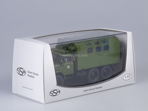 ZIL-131 KUNG MTO ATM khaki 1:43 Start Scale Models (SSM)