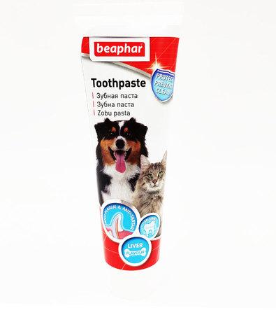 Beaphar Dog-A-Dent зубная паста для собак и кошек со вкусом печени 100г