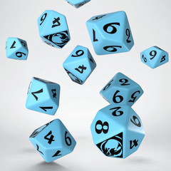 Legend of the Five Rings Crane Clan 10D10 Dice (10)