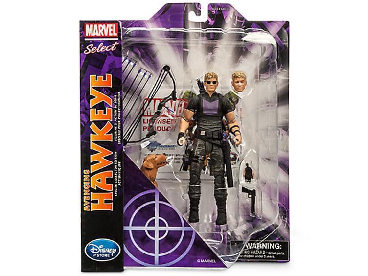 Марвел Селект фигурка Соколиный Глаз Мститель — Marvel Select Hawkeye Exclusive