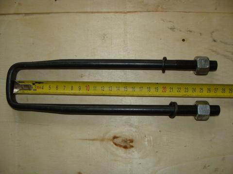 Стремянка подрессорника 452 (275 мм) в сб. с гайкой,гровером