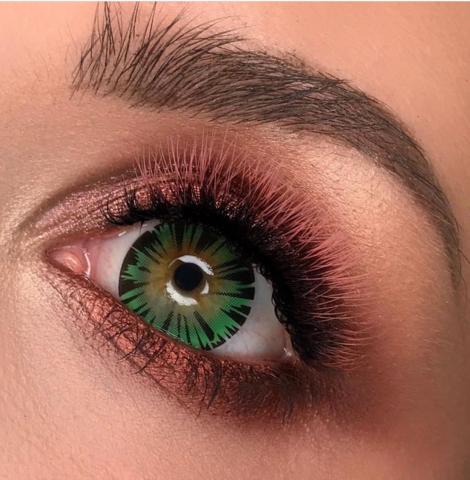 Цветные линзы Hera exotic green