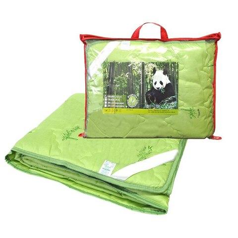 Одеяло бамбук евро макси с чехлом из поплина (тонкое)