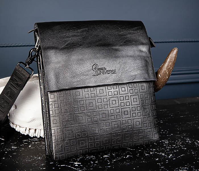 BAG559-1-2 Кожаная сумка планшет для города фото 09