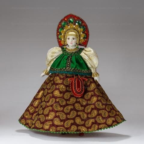 Интерьерная кукла в праздничном костюме из Центральной полосы России