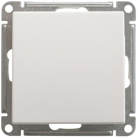Выключатель одноклавишный, 16АХ. Цвет Белый. Schneider Electric Wessen 59. VS116-154-1-86