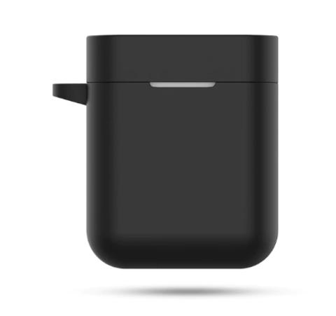 Чехол на Xiaomi Airdots Pro 2 силиконовый (черный)