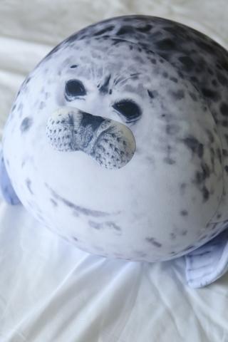Подушка-игрушка антистресс «Тюлень» 4