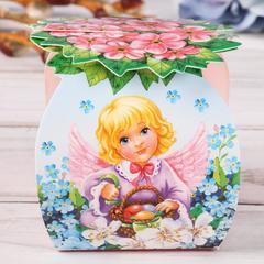 Пасхальная Коробочка  для яйца «Ангел», 26,7 х 19,2 см