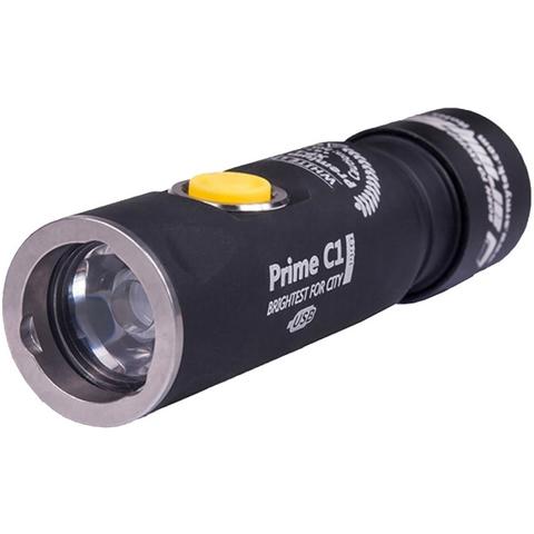 Фонарь светодиодный Armytek Prime C1 Pro Magnet USB+18350, 1050 лм, аккумулятор