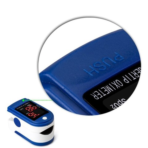 Пульсоксиметр Pulse Oximeter Jziki jzk-302