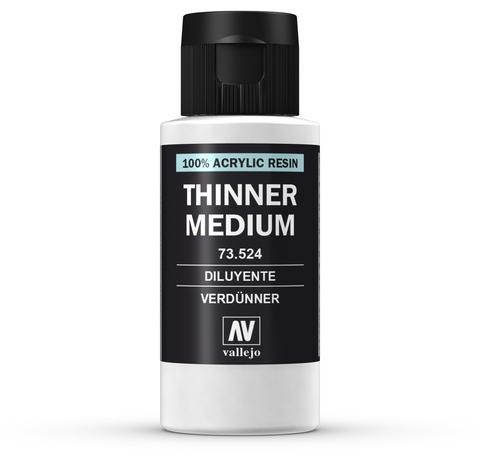 Model Color Thinner 60 ml.