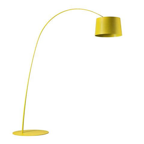 Напольный светильник копия Twiggy by Foscarini (желтый)