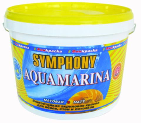 SYMPHONY Аqua Marina – акриловая краска для влажных помещений