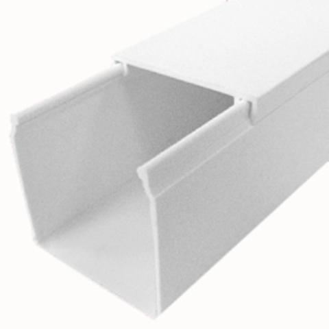 ECO 40Х40 Миниканал 40Х40 мм. 1шт=1м. Цвет Белый. Ecoplast (ЭКОПЛАСТ). 77209