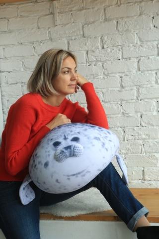 Подушка-игрушка антистресс «Тюлень» 6