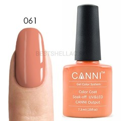 Canni, Гель-лак № 061, 7,3 мл