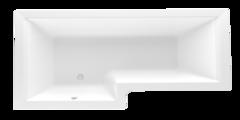 Ванна акриловая Marka One LINEA L 165х85 см левосторонняя