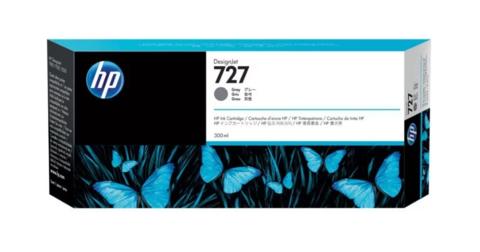 Картридж струйный HP F9J80A (727), серый фото