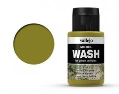 Dark Green Wash