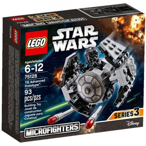 LEGO Star Wars: Усовершенствованный прототип истребителя TIE 75128 — TIE Advanced Prototype — Лего Звездные войны Стар Ворз