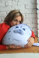 Подушка-игрушка антистресс «Тюлень» 7