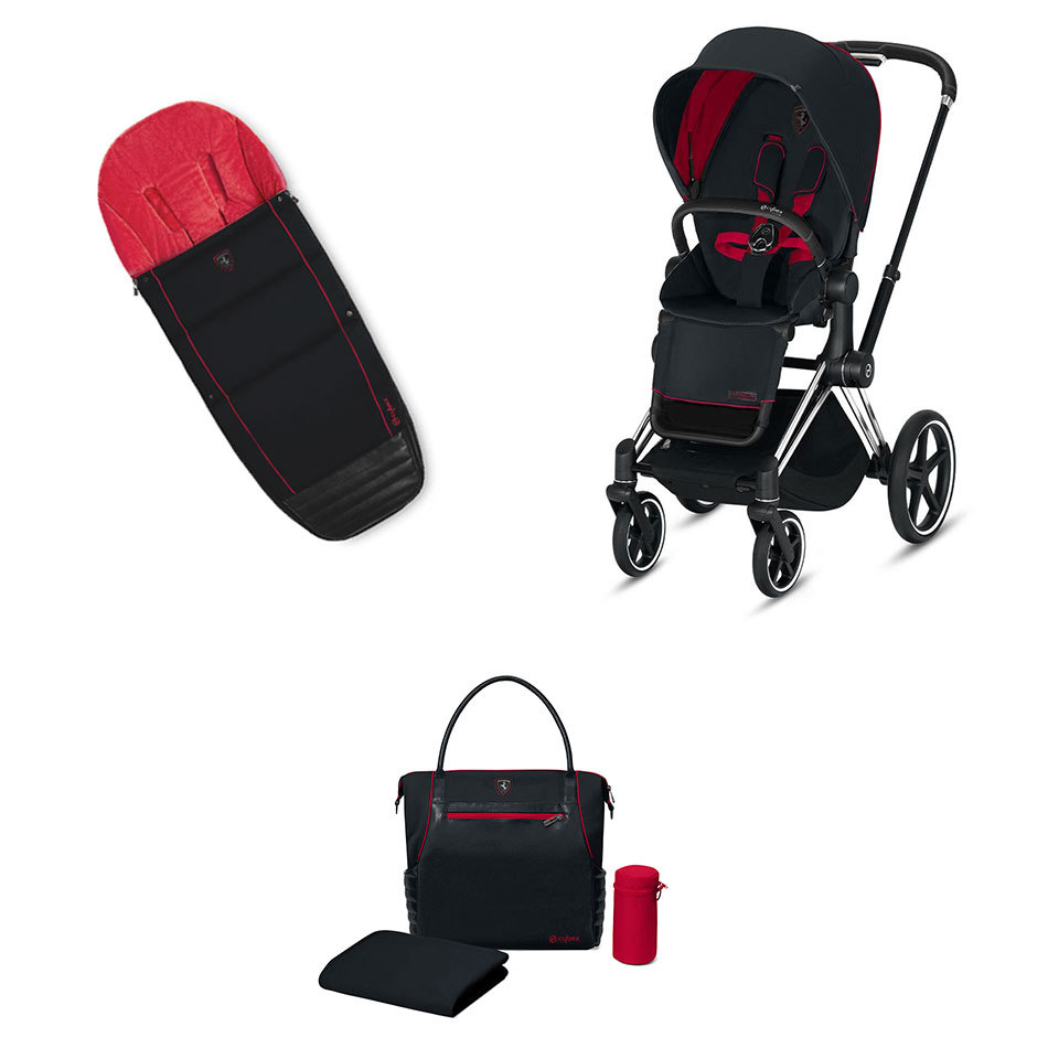Scuderia Ferrari Набор Cybex Priam III FE Ferrari Victory Black шасси Chrome Black seat-cybex-priam-fe-ferrari-victory-black-frame-chrome-black.jpg