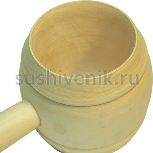 Ковш точеный 0,5 л (липа)