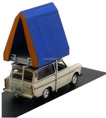 Trabant 601S Universal Camping cream 1980 IST193 IST Models 1:43