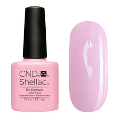 UV Гелевое покрытие CND Shellac Be Demure 7,3 мл