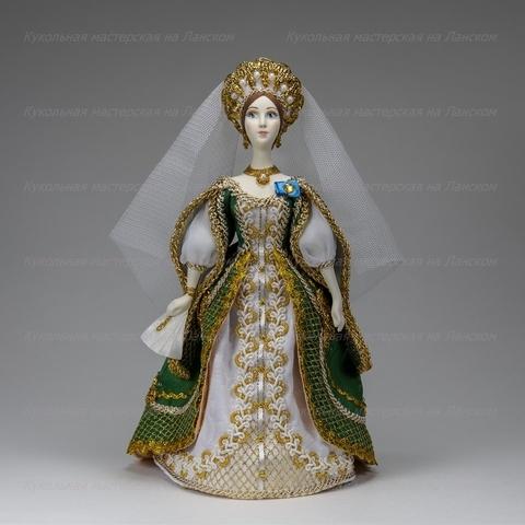 Кукла в костюме статс-дамы, конец 19 века