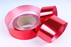 Лента металл (5 см*50 ярд) Красный