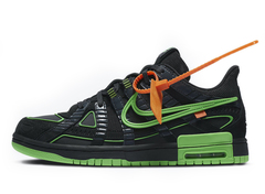 Off-White x Nike Air Rubber Dunk 'Green Strike'