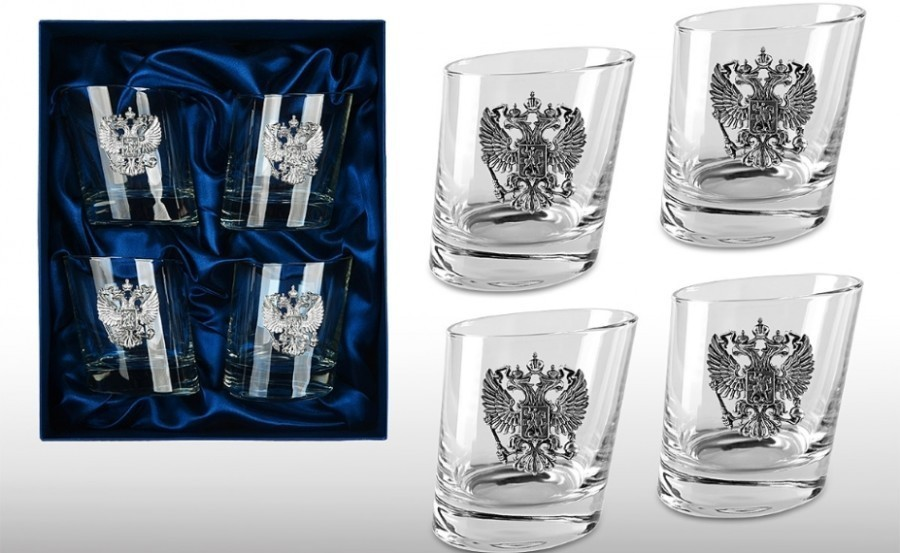 Подарочный набор стаканов для виски «Русская Башня» набор стаканов для виски 6 шт bohemia набор стаканов для виски 6 шт